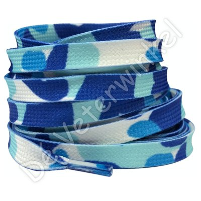 Printveter camouflage Blauw SPECIALE LENGTE