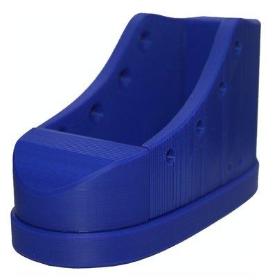 Veterstrik schoen basiskleur (zool) Blauw