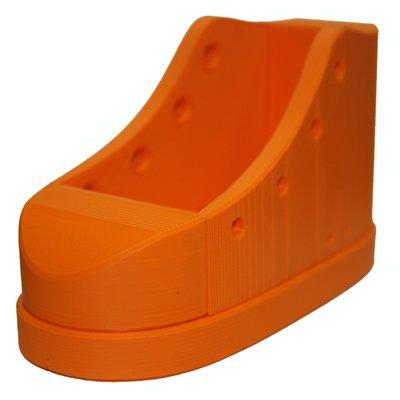 Veterstrik schoen basiskleur (zool) Oranje