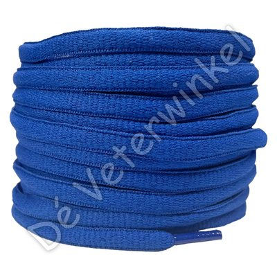Ovaal sportveter 6mm Koningsblauw AAN DE METER