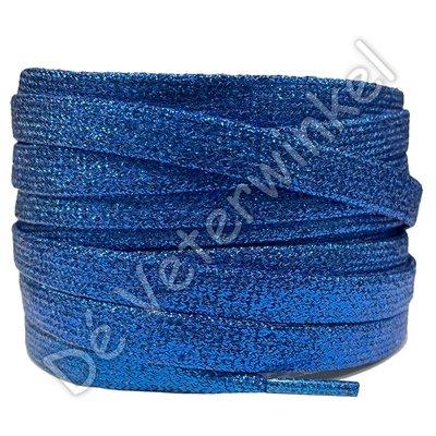 Plat shiny 10mm Koningsblauw SPECIALE LENGTE