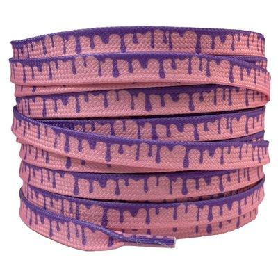 Verfdruppels 8mm Roze/Paars SPECIALE LENGTE