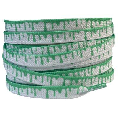 Verfdruppels 8mm Wit/Groen SPECIALE LENGTE