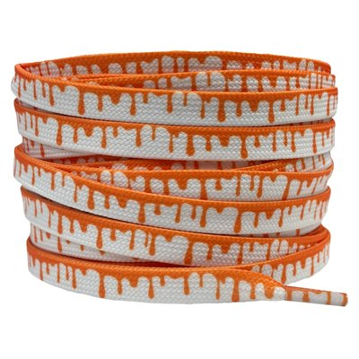 Verfdruppels 8mm Wit/Oranje SPECIALE LENGTE