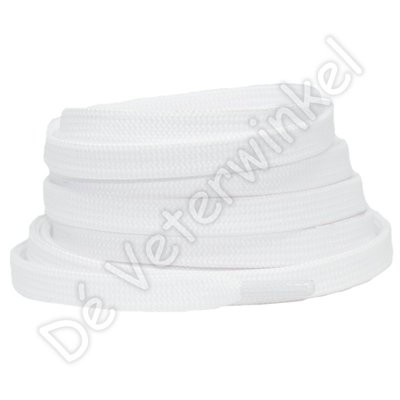 Plat 8mm polyester Wit SPECIALE LENGTE