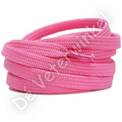 Plat 8mm polyester Roze SPECIALE LENGTE