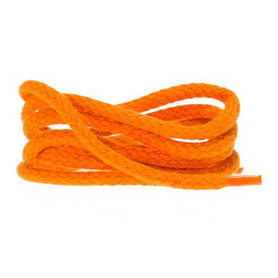 Rond GROF 4mm katoen Oranje 90CM
