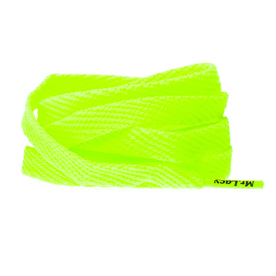 Mr.Lacy Neon geel 130CM