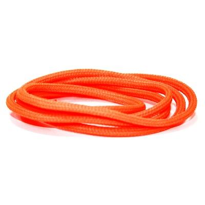 Ronde veter polyester Fluororanje 180CM