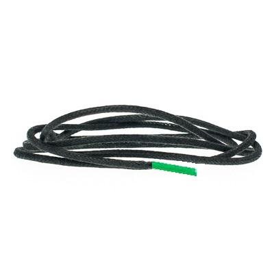Waxveters zwart met groene pinken