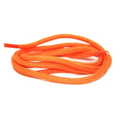 Ronde veter polyester Oranje SPECIALE LENGTE