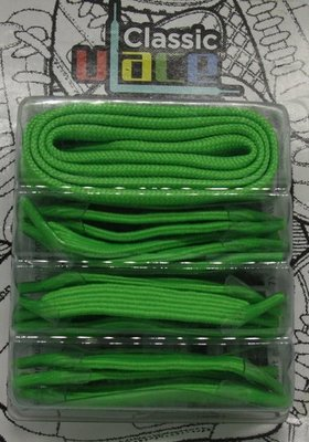 u-Lace-Box Neon Green OP=OP