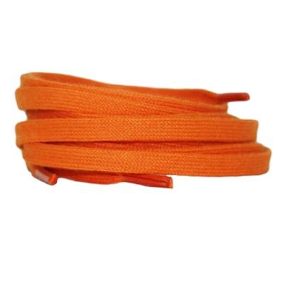 Plat katoen 6mm Oranje SPECIALE LENGTE