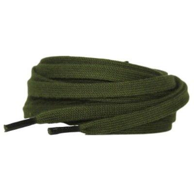 Plat katoen 6mm Groen SPECIALE LENGTE