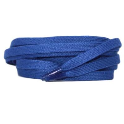 Plat katoen 6mm Kobaltblauw SPECIALE LENGTE