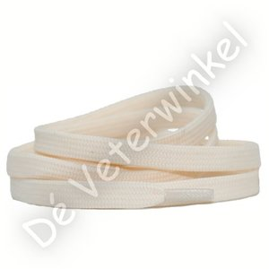 Plat 8mm polyester Creme SPECIALE LENGTE