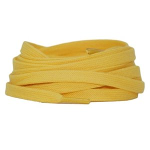 Plat katoen 6mm Geel SPECIALE LENGTE