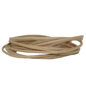 Waxed Laces Beige SPECIAL LENGTH